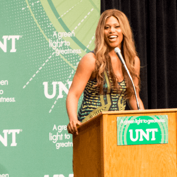 Laverne Cox at UNT